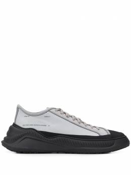 Oamc contrast-footbed chunky trainers OASQ89510AOQL11522