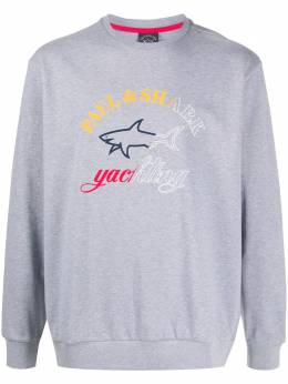 Paul & Shark logo-print sweatshirt P20P1823