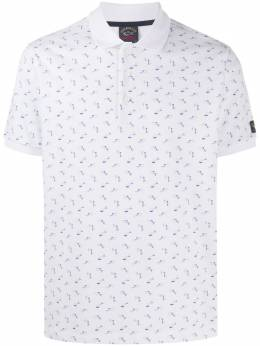 Paul & Shark all-over print polo shirt E20P1263