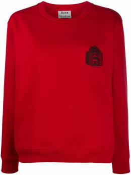 Acne Studios logo print sweatshirt AI0051