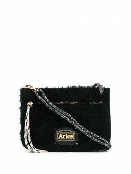 Aries фактурная сумка через плечо MINIPOUCH