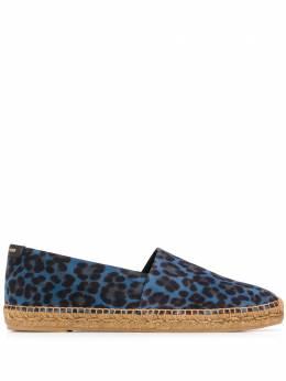 Saint Laurent leopard espadrilles 6059571FL20