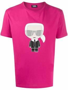 Karl Lagerfeld футболка с круглым вырезом и принтом Karl 7550610501251