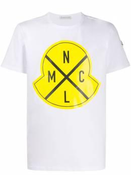 Moncler футболка с логотипом 8C736208390T