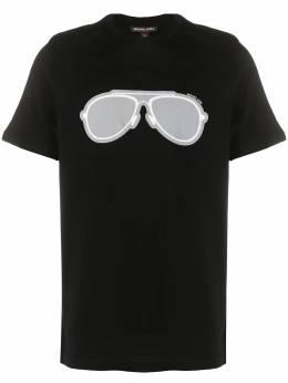 Michael Kors футболка с принтом CR95J48FV4