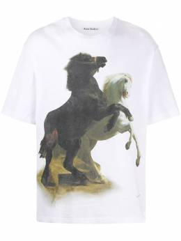 Acne Studios футболка с принтом BL0153