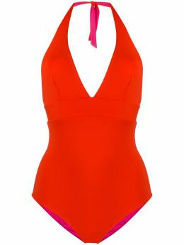 Fisico reversible halter neck one-piece CC09MB