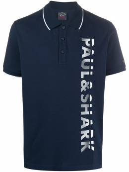 Paul & Shark vertical logo polo shirt E20P1267
