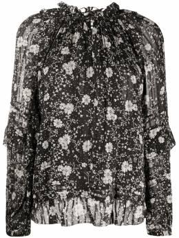 Isabel Marant Etoile блузка Eyden с цветочным принтом HT170320P040E