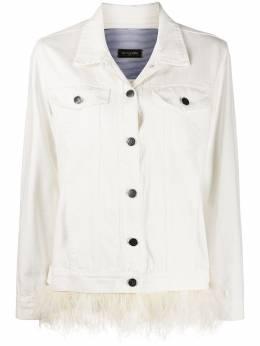 Simonetta Ravizza декорированная джинсовая куртка JBASICM