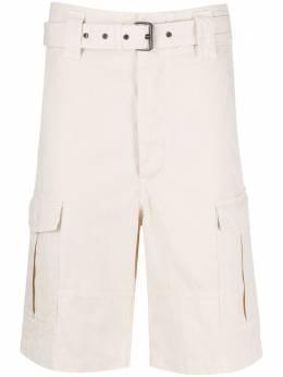 Isabel Marant шорты карго с поясом SH032020P025H