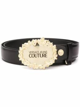 Versace Jeans Couture logo-plaque belt D8GVBF0571557