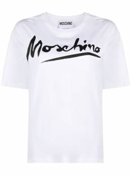Moschino футболка с логотипом A07070440