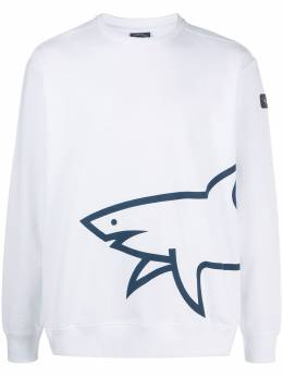 Paul & Shark shark-print sweatshirt P20P1855