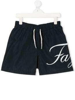 Fay Kids плавки-шорты с логотипом 5M0059MX540
