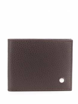 Orciani pebbled leather bifold wallet SU0090