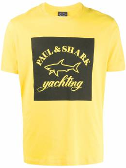 Paul & Shark logo print T-shirt E20P1117