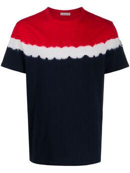 Moncler футболка с принтом тай-дай 8C708608390T