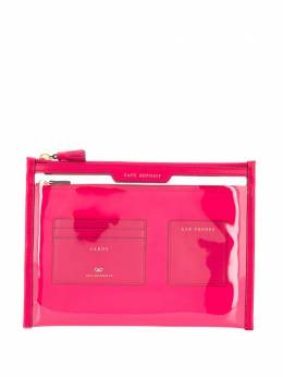 Anya Hindmarch Safe Deposit window clutch 146159