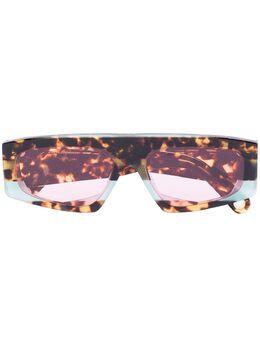 Jacquemus Lunnes tortoiseshell sunglasses 205AC0520571041