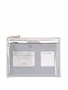Anya Hindmarch Safe Deposit window clutch 146166