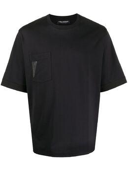 Neil Barrett футболка с нашивкой Bolt BJT675BN556S