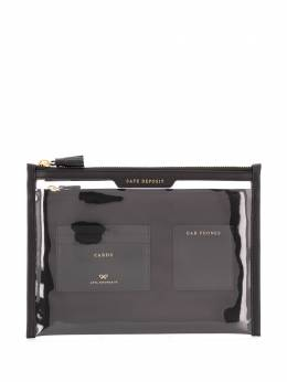 Anya Hindmarch Safe Deposit window clutch 142175