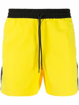 The North Face contrast side panel shorts NF0A48TULKE