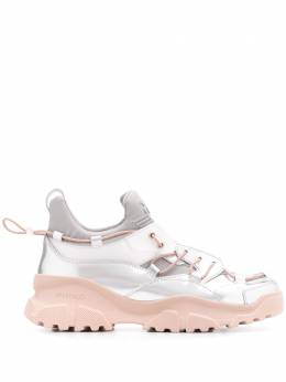 Pinko metallic chunky sole sneakers 1P21RRY62UIN6
