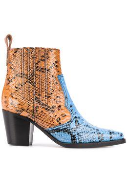 Ganni ковбойские ботинки S1202