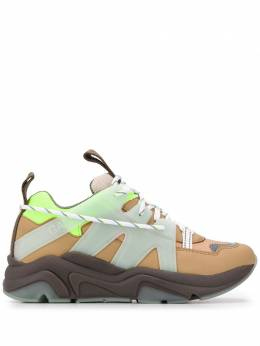 Ganni panelled chunky sneakers S1153