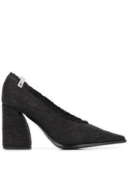 Premiata фактурные туфли-лодочки на каблуке M5710HILENERO