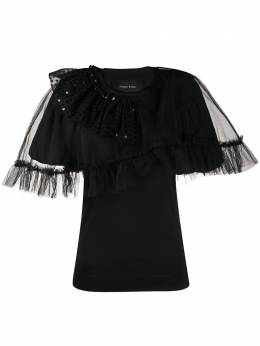Simone Rocha embellished tulle details blouse TS2650553