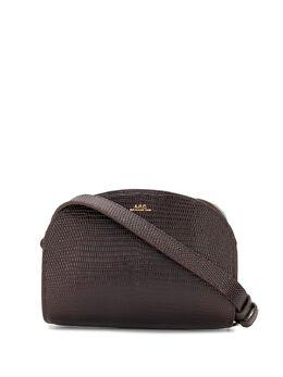 A.P.C. полукруглая мини-сумка на плечо PXBMRF61392