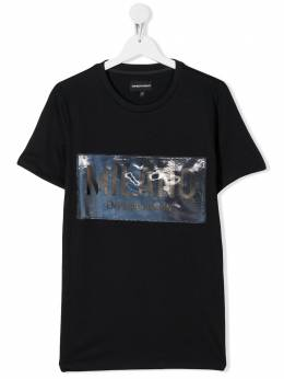 Emporio Armani Kids футболка Milano 3H4T621J00Z