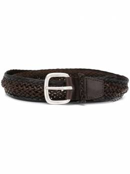 Orciani braided-detail belt 7811MASCUL