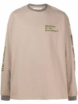 Children Of The Discordance embroidered logo sweater COTDCS208
