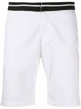 Karl Lagerfeld шорты с отделкой в полоску 255811501801