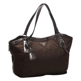Prada Black Nylon Tote Bag 271710