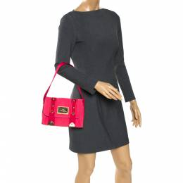 Louis Vuitton Pink Canvas Antigua Sac Rabat Bag 273736