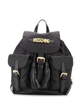 Moschino рюкзак с логотипом и кисточками B76018202