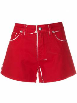 Love Moschino paint effect shorts WO10471S3378