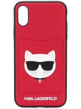 Karl Lagerfeld чехол Choupette для iPhone X/XS KL20CDXS500