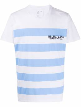 Helmut Lang striped logo T-shirt K02DM504