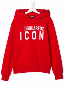 Dsquared2 Kids худи с логотипом DQ04EXD00RG
