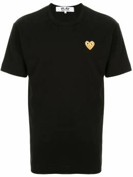 Comme Des Garcons Play logo-embroidered crew neck T-shirt AZT216051