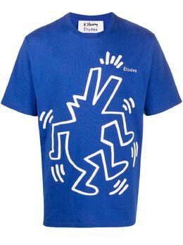Etudes футболка Wonder из коллаборации с Keith Haring E16S445KH1