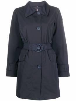 Peuterey однобортное пальто с поясом PED352301181564