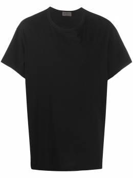 Yohji Yamamoto футболка с принтом HNT43085