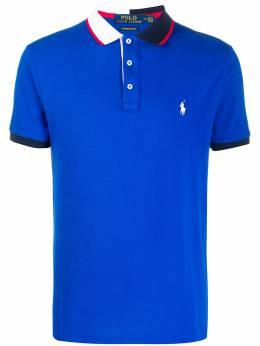 Polo Ralph Lauren рубашка-поло с контрастным воротником 710791004003
